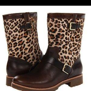 Sperry Top Sider Britt Leopard boots